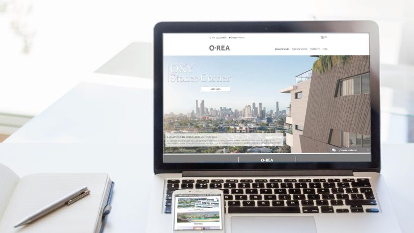 Diseño web O-Rea