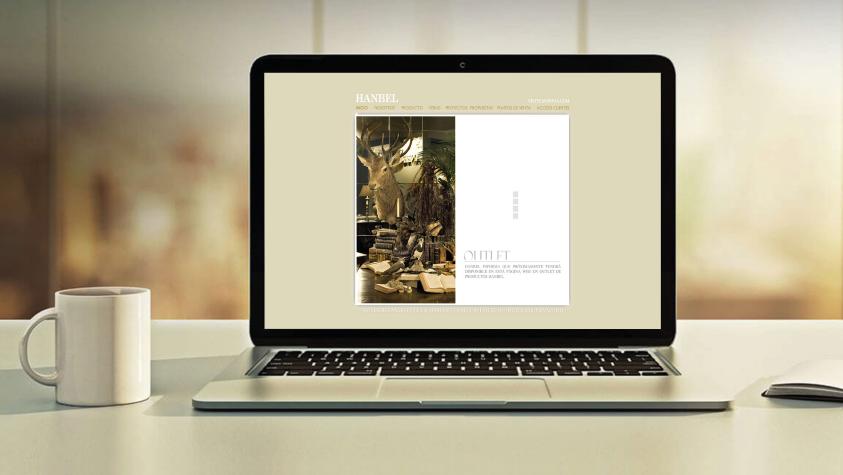 Diseño web hanbel
